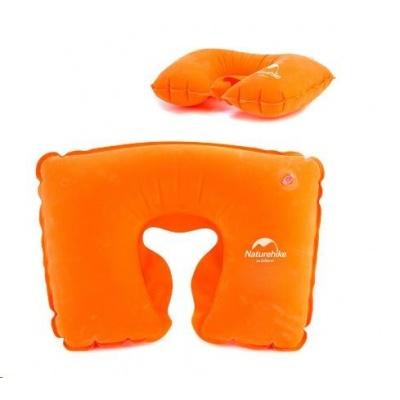 Naturehike nafukovací polštářek kolem krku 72g - oranžový