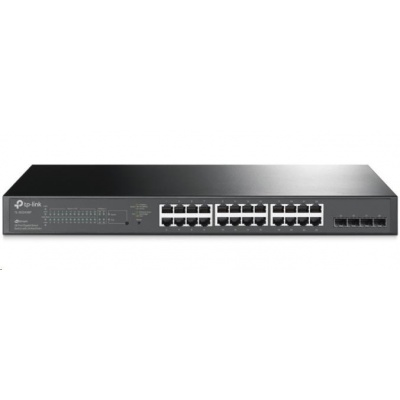 TP-Link TL-SG2428P [JetStream 28-Port Gigabit Smart Switch with 24-Port PoE+]