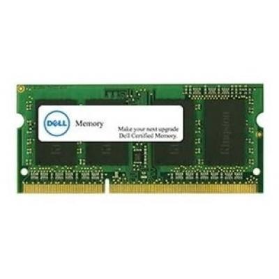DELL Pamäťový modul s kapacitou 8 GB Pre vybraný systém Dell - DDR3L-1600 SODIMM 2RX8 non-ECC LV