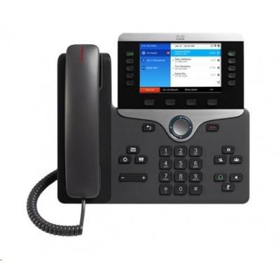 "Cisco CP-8861-3PCC-K9=, VoIP telefon, 10line, 2x10/100/1000, 5"" displej, Wi-Fi, Bluetooth, 2xUSB, PoE"