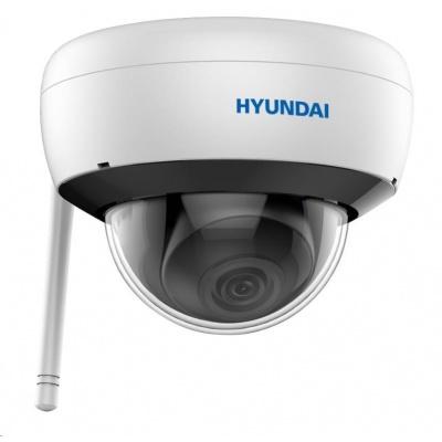 HYUNDAI IP kamera 2Mpix, H.265+, 25 sn/s, obj. 2,8mm (110°), DC12V, audio in, IR 30m, IR-cut,Wi-Fi, WDR digit, mSD, IP66