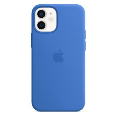 APPLE iPhone 12 mini Silicone Case with MagSafe - Capri Blue