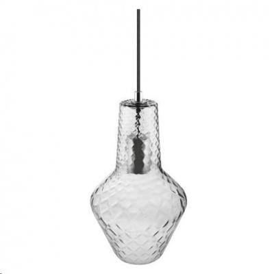 LEDVANCE VINTAGE 1906 CARVED PENDANT BOTTLE Glass, Smoke Grey