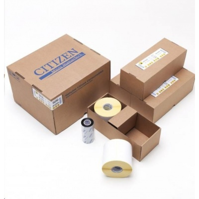 Citizen BOX PACK, label roll, colour ribbon, normal paper, wax, 60x40mm