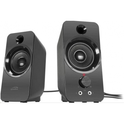 SPEED LINK reproduktory SL-810005-BK DAROC Stereo Speaker, black