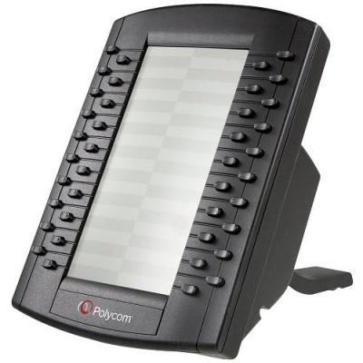 Polycom přídavná konzole s tlačítky pro telefony VVX 3xx a vyšší