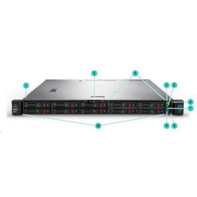 HPE PL DL325g10+ AMD EPYC 7402P (2.8G/24C/128M/3200) 2x32G P408i-a 8SFF 2x10/25Gb 1x800W NBD333 EIR 1U