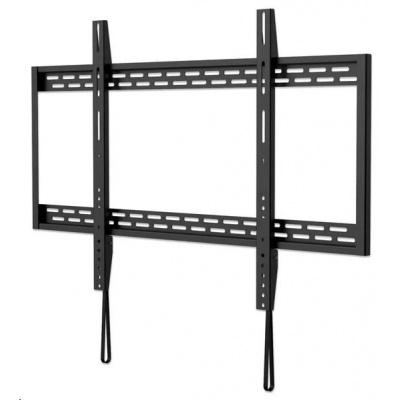 """MANHATTAN nástěnný držák TV (60"""" to 100""""), Heavy-Duty Low-Profile Large-Screen TV Wall Mount, pevný, tenký design, černá"""