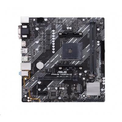 ASUS MB Sc AM4 PRIME A520M-E, AMD A520, 2xDDR4, 1xHDMI, 1xDVI, 1xVGA, mATX