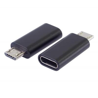 PremiumCord adapter USB-C konektor female - USB 2.0 Micro-B/male