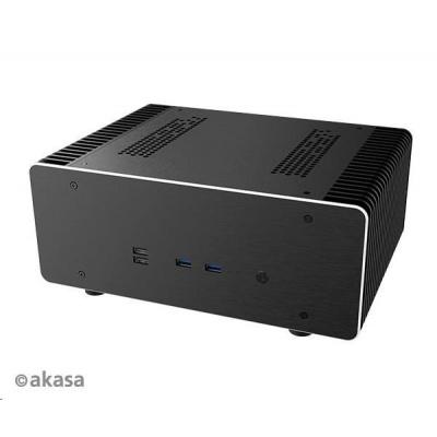 AKASA case Maxwell Pro, MiniITX, černá