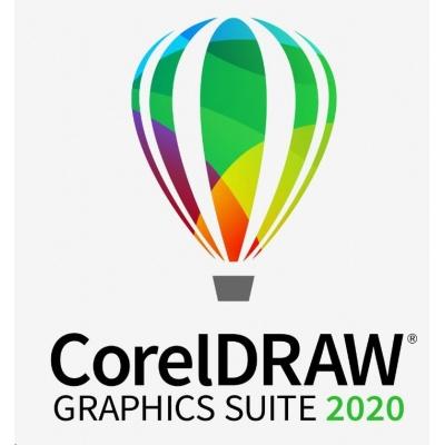 CorelDRAW GS 2020 License Media Pack EN/DE/FR/BR/ES/IT/NL/CZ/PL- BOX