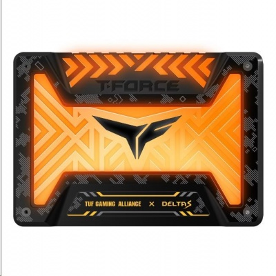 "T-FORCE SSD 2.5"" 500GB Delta S TUF Gaming RGB (12V), 3D NAND"