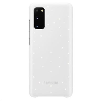 Samsung kryt LED EF-KG980CWE pro Galaxy S20, bílá