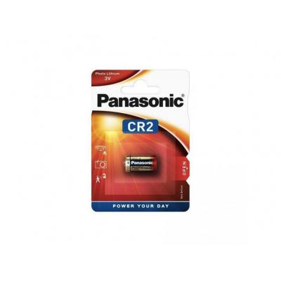 PANASONIC Lithiové - FOTO baterieCR-2L/1BP 3V (blistr - 1ks)