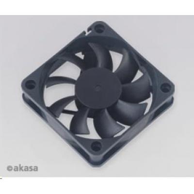 AKASA ventilátor AK-6015MS, 60 x 15mm, zapouzdřené ložisko, black