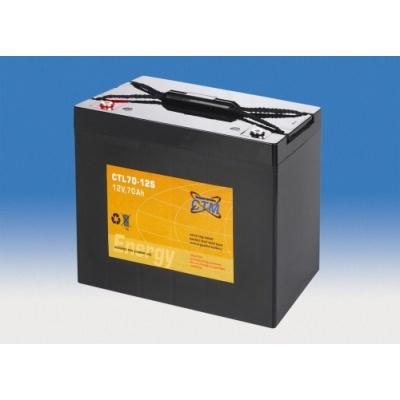Baterie - CTM CTL 70-12s (12V/70Ah - M6), životnost 10-12let
