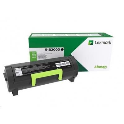 Lexmark černý toner pro MS/MX 317,417,517,617 z programu Lexmark Return na 2 500 stran