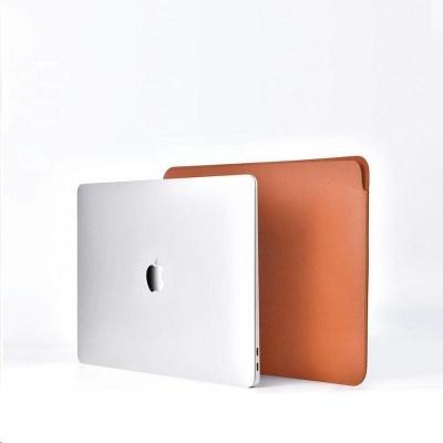 COTEetCI PU Ultra-tenké pouzdro pro MacBook 13 hnědá