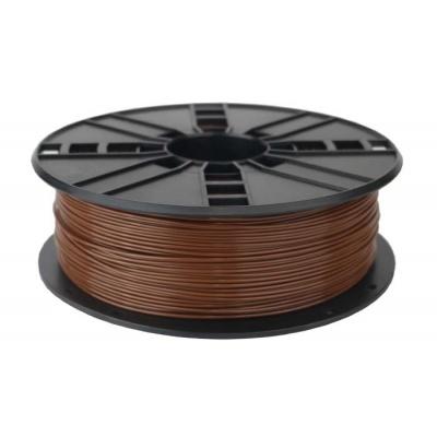 GEMBIRD Tisková struna (filament) PLA, 1,75mm, 1kg, hnědá