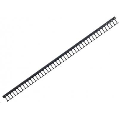 TRITON vertikální vyvazovací panel 42U, jednořadý, pro rozvaděče šířky 800mm z řady RMA, RZA, RDA, RTA, RYA, černý