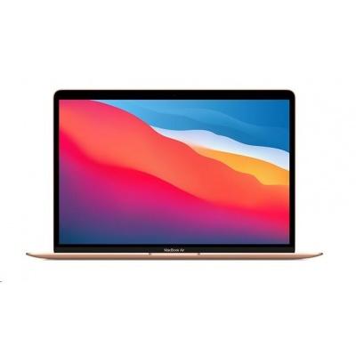 APPLE MacBook Air 13'',M1 chip with 8-core CPU and 7-core GPU, 256GB,8GB RAM - Gold