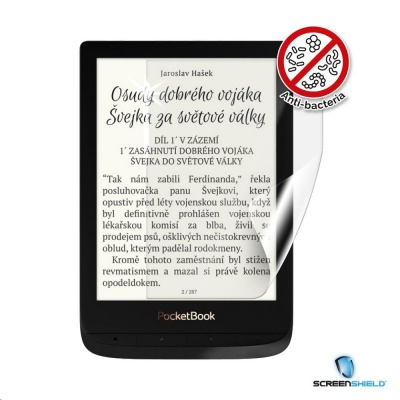 Screenshield fólie na displej Anti-Bacteria pro POCKETBOOK 627 Touch Lux 4