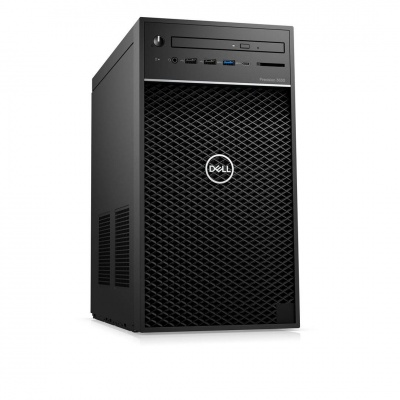 DELL Precision T3630 TWR/Xeon E-2274G/16GB/256GBSSD + 1TB/Quadro P2200/DVD RW/Kb/Mouse/W10Pro/vPro/3Y ProSpt NBD