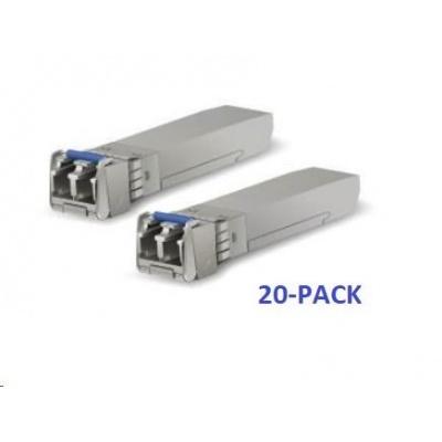 UBNT U Fiber UF-SM-10G-20, 20-PACK [20ks SFP+ 10G modulů, Single-Mode, LC konektor]
