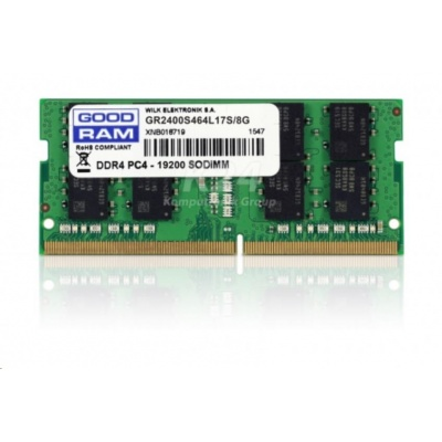 SODIMM DDR4 8GB 2400MHz CL17 GOODRAM