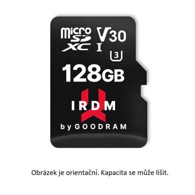 GOODRAM microSDXC karta 64GB IRDM (R:100/W:70 MB/s), UHS-I Class 10, U3, V30 + Adapter
