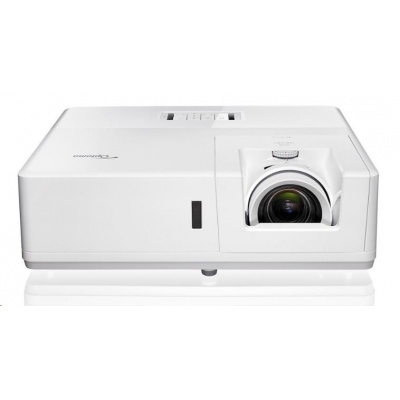 Optoma projektor ZU606Te White (DLP, FULL 3D, Laser, WUXGA, 6300 ANSI, 300 000:1, 2xHDMI, 2xVGA, 2x10W speaker)