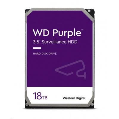 WD PURPLE WD180PURZ 18TB SATA/600 512MB cache, Low Noise, CMR