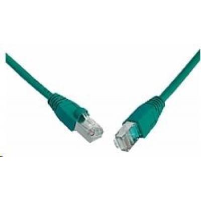 Solarix Patch kabel CAT6 SFTP PVC 7m zelený snag-proof C6-315GR-7MB