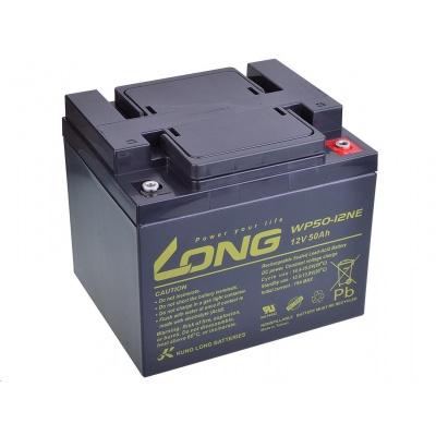 Long 12V 50Ah olověný akumulátor DeepCycle AGM M6 (WP50-12NE)