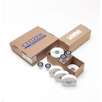 Citizen CABLE PACK, Band, label roll, colour ribbon, resin, 25.4x57.2mm, transparent