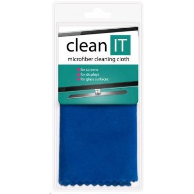 CLEAN IT Čistící utěrka z mikrovlákna, velká 42x40 cm modrá