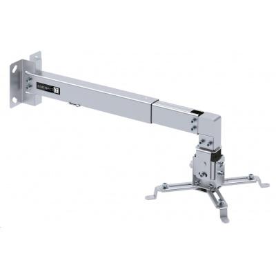 CONNECT IT Spider držák projektoru na zeď, STŘÍBRNÝ /pro monitory rozteč otvorů 225-316mm