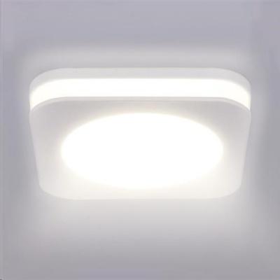 Solight LED podhledové svítidlo, 10W, 800lm, 4000K, IP44, čtvercové