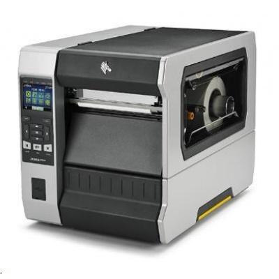 Zebra ZT620, 12 dots/mm (300 dpi), rewind, disp., ZPL, ZPLII, USB, RS232, BT, Ethernet