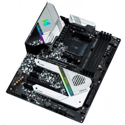 ASRock MB Sc AM4 X570 STEEL LEGEND, AMD X570, 4xDDR4, VGA