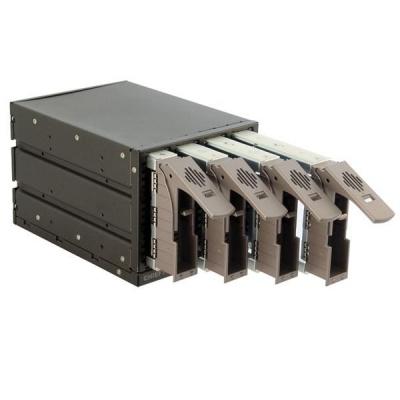 "CHIEFTEC interní box 3x 5,25"" pro 4x SAS/SATA HDD,černý, hot-swap, ALU"