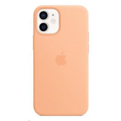Apple iPhone 12 mini Silicone Case with MagSafe - Cantaloupe
