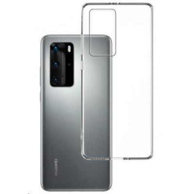 3mk ochranný kryt Clear Case pro Huawei P40 Pro, čirá