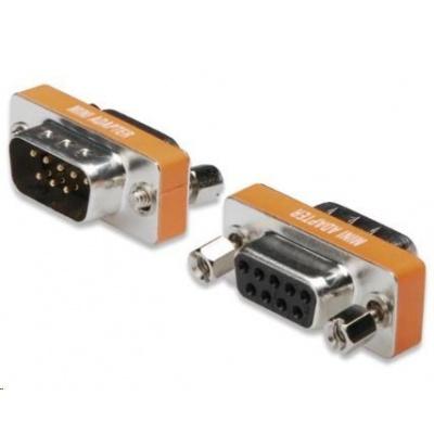 PREMIUMCORD Redukce sériový port 9M / 9F, null modem ( překřížené zapojení )