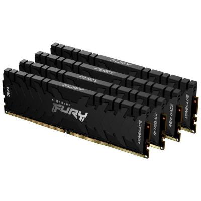 KINGSTON FURYRenegade 64GB2666MHz DDR4 CL13DIMM (Kit of4)1Gx8 Black