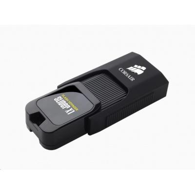 CORSAIR Flash Disk 128GB Voyager Slider X1, USB 3.0, černá