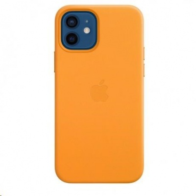 APPLE iPhone 12/12 Pro Leather Case with MagSafe - California Poppy