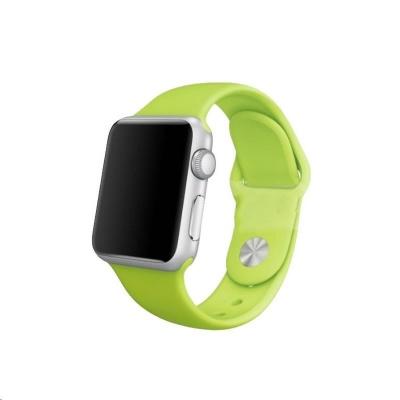 COTEetCI silikonový sportovní náramek pro Apple watch 42 / 44 mm zelený