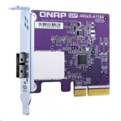 QNAP QXP-400eS Rozšiřující úložná karta SATA 6Gb/s, 1x SFF-8088 (až 4x HDD)